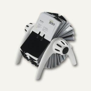 "Durable Visitenkarten-Rollkartei ""Visifix flip"", weiß, 2417-02"