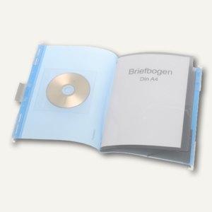 FolderSys PP-Hänge-Ordnungsmappe mit Register, Umschlag blau, 10 St., 7004244