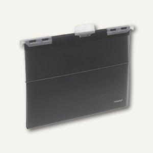 FolderSys Hänge-Sichtbuch A4 m. 10 Hüllen & CD-Tasche, anthrazit, 10St., 7004334