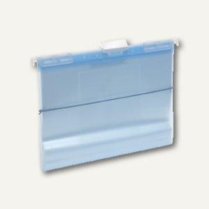 FolderSys Hänge-Sichtbuch A4 mit 10 Hüllen & CD-Tasche, blau, 10 St., 7004344