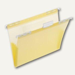 FolderSys PP-Hängemappe, CD Tasche innen, gelb, 20 Stück, 7004564