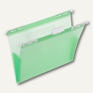 FolderSys PP-Hängemappe, CD Tasche innen, grün, 20 Stück, 7004554