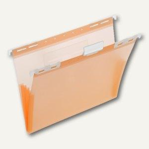 FolderSys PP-Hängemappe, CD Tasche innen, orange, 20 Stück, 7004569