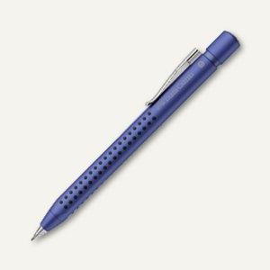 Faber-Castell Druckbleistift GRIP 2011, Minenstärke 0.7 mm, blau metallic,131253