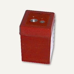 Dosen-Doppelspitze rot