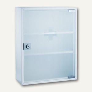Erste-Hilfe-Verbandsschrank mit Glastür