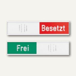 Franken Manuelle Frei-/Besetzt-Anzeige, 102 x 27,4 mm, silber, BS0117