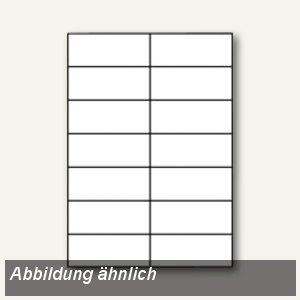 officio Etiketten, 97 x 42.3 mm, weiß, 12.000 Etiketten