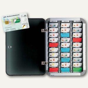 Versichertenkartenvitrine für 30 Karten