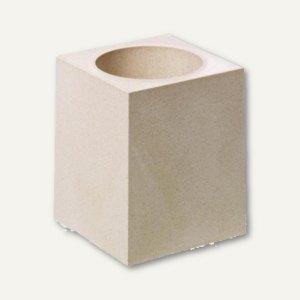 Durable Schreibgeräteköcher PEN HOLDER CUBO eco, beige, 1 Stück, 7742-16