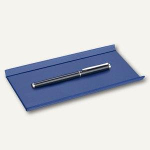 """Läufer """"Matton"""" Federschale aus Kunststoff, 22 x 11 cm, blau, 31015"""