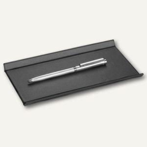 """Läufer """"Matton"""" Federschale aus Kunststoff, 22 x 11 cm, schwarz, 31016"""