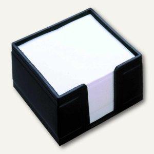"""Läufer """"Scala"""" Zettelbox aus Rindsleder, 10 x 5 x 10cm, schwarz, 34116"""