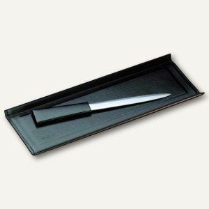 """Läufer """"Modena"""" Federschale aus glattem Rindsleder, schwarz, 31036"""