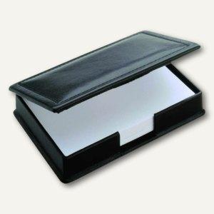 """Läufer """"Modena"""" Zettelkasten aus glattem Rindsleder, schwarz, 34016"""