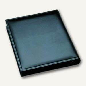 "Läufer ""Modena"" Ringbuch aus glattem Rindsleder, DIN A4, schwarz, 34366"