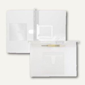 FolderSys Hängehefter, CD-Tasche innen, 2 Heftungen, PP farblos, 20 St., 7004604