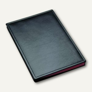 """Läufer """"Modena"""" Unterschriftenmappe aus glattem Rindsleder, schwarz, 34816"""