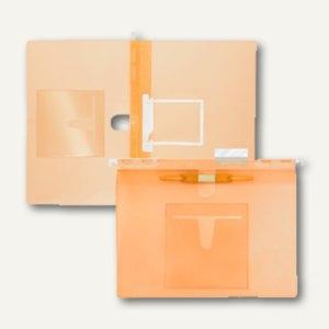 FolderSys Hängehefter, CD-Tasche innen, 2 Heftungen, PP orange, 20 St., 7004669