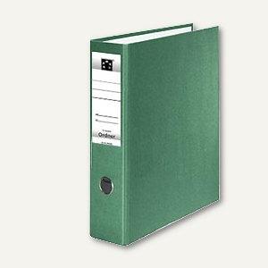 officio Kunststoff-Standardordner, Rückenbreite 75 mm, grün, S21752