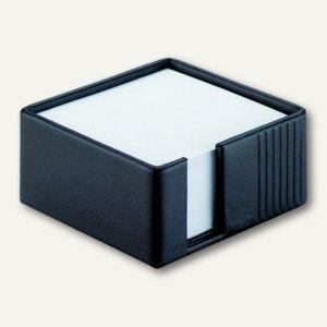 "Läufer ""La Linea"" Zettelbox, naturgenarbtes Rindsleder, schwarz, 34176"