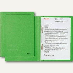 LEITZ Schnellhefter DIN A4, Karton Fresh, grün, 3003-00-55