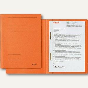 LEITZ Schnellhefter DIN A4, Karton Fresh, orange, 3003-00-45