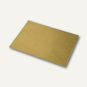 Rössler Briefhüllen DIN C6, nassklebend, gold, 100 St., 16400575