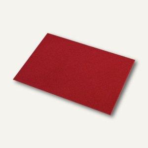 Briefhüllen mit Seidenfutter C6, nasskl., rosso gerippt, 100 St., 16400572