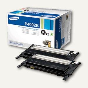 Samsung Lasertoner für CLP310, 2 x 1.500 Seiten, schw., 2 Stück, CLT-P4092B/ELS