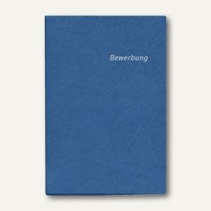 Veloflex Bewerbungs-Heftmappe, DIN A4, Karton, blau, 10 Stück, 4941050