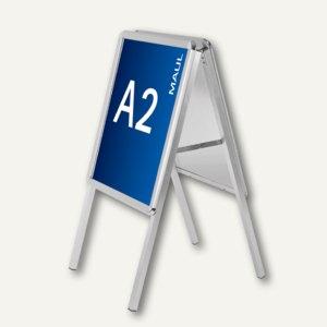 Hebel Kundenstopper public, Format A2, aluminium, 6331208, 6631208
