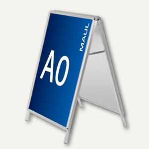 Hebel Kundenstopper public, Format A0, aluminium, 6631008