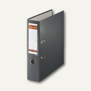Bene Ordner DIN A4, Rückenbreite 80 mm, schiefer, 291400 SCH