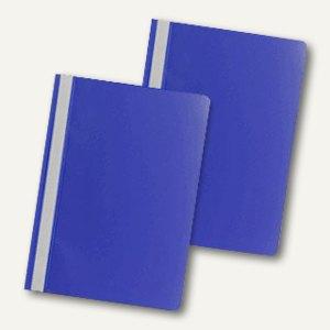 officio Schnellhefter DIN A4, PP, dunkelblau, 5er Pack, 312575