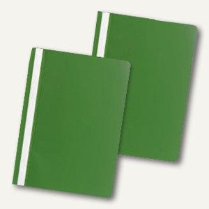 officio Schnellhefter DIN A4, PP, grün, 5er Pack