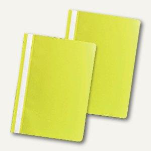 officio Schnellhefter DIN A4, PP, gelb, 5er Pack, 312613