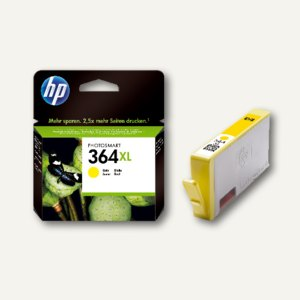 HP Tintenpatrone Nr. 364XL, gelb, CB325EE