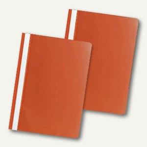 officio Schnellhefter DIN A4, PP, orange, 5er Pack, 312621