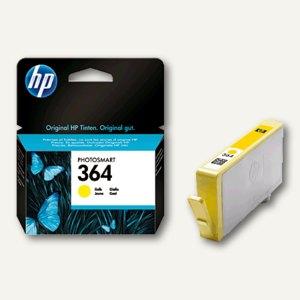 HP Tintenpatrone, Nr.364, gelb, CB320EE