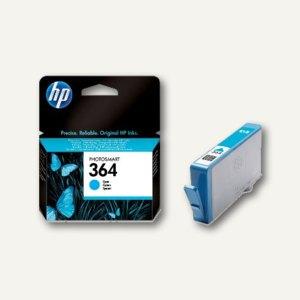 HP Tintenpatrone Nr.364, cyan, CB318EE