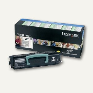 Lexmark Toner-Kit return program schwarz, X203A11G