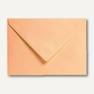 Clairefontaine Briefumschlag C5, nassklebend, 120 g/m², clementine, 20 St.,5492C