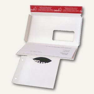 ColomPac CD-Mailer mit Fenster, DIN DL, 221 x 122 mm, selbstklebend, CP 040.01