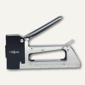 Regur Handtacker für Heftklammern bis 10mm Klammerlänge, Vollmetall, R-53