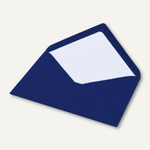 Briefumschlag DIN C5, Seidenfutter, nassklebend, Jeans gerippt, 100 Stück, 16401