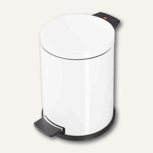 Hailo Tret-Abfallsammler ProfiLine Solid 14, 14 Liter, Stahlblech, weiß,0514-089