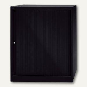 Euro Rollladenschrank, 2 Böden f. 2 ½ OH, H1029 x B800 mm, schwarz, ET408102S5-6