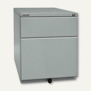 Rollcontainer OBA, 420 x 519 x 565 mm, 1 Schub + HR, silber, OBA59M2EHT-355