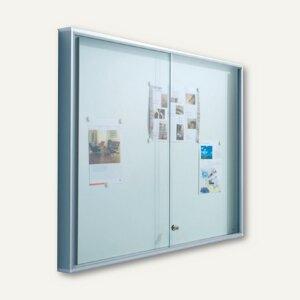 Innen-Plakatschaukasten INTRO-PV21 m. Schiebetüren 1.540 x 970 x 35 mm